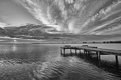 Photograph - Sunset Pier By H H Photography Of Florida by HH Photography of Florida
