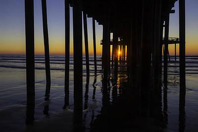 Pismo Beach Photograph - Sunset Pismo Beach by Garry Gay