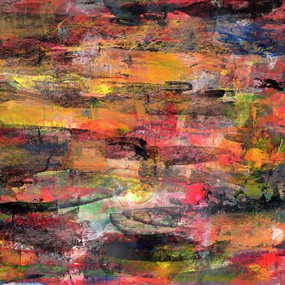 Painting - Sunset Pond  by Daniel Ferguson