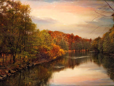 Photograph - Sunset Pond by Jessica Jenney