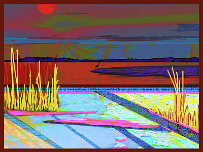 Sunset Pond Original