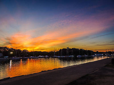 Photograph - Sunset Promenade by Glenn Feron