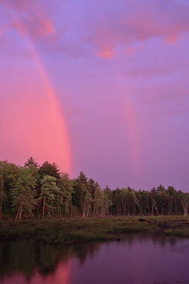 Photograph - Sunset Rainbows by John Burk