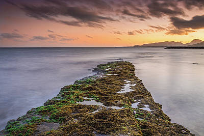 Photograph - Sunset Reef by Pierre Leclerc Photography