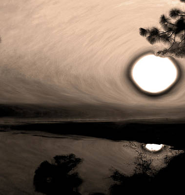 Photograph - Sunset Reflection by Gina O'Brien