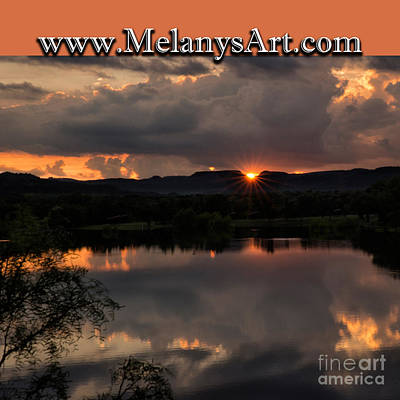 Photograph - Sunset Reflection by Melany Sarafis