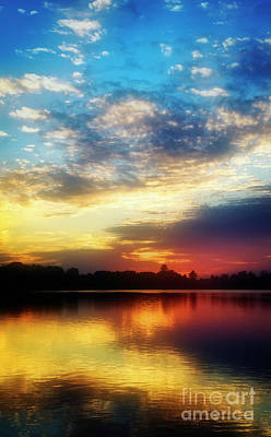 Photograph - Sunset Reflection by Scott Kemper