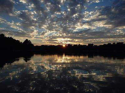 Nature At Its Best Photograph - Sunset Reflection by Terri Waselchuk
