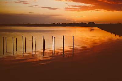 Photograph - Sunset Reflections by Amber Dopita