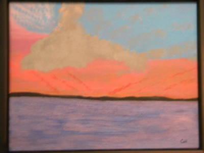 Sunset Reflections Art Print by Chris Heitzman