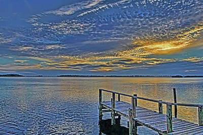 Sunset Photograph - Sunset Reflections by HH Photography of Florida