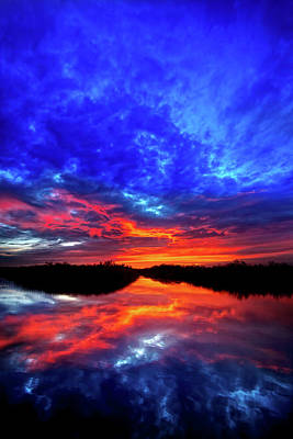 Sunset Reflections II Print by Mark Andrew Thomas