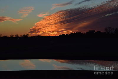 Photograph - Sunset Reflections by Mark McReynolds