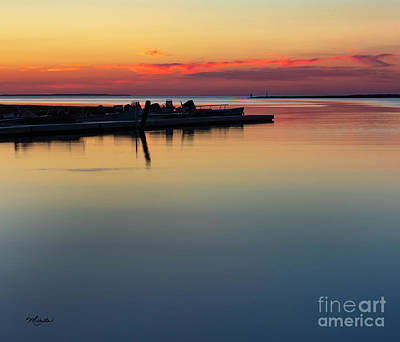 Photograph - Sunset Reflections by Michelle Constantine