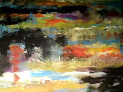 Painting - Sunset Reflections by Nikki Dalton