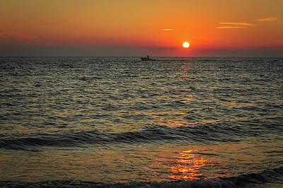 Photograph - Sunset Ride Cape May Point Nj by Terry DeLuco