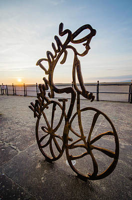 Photograph - Sunset Rider by Spikey Mouse Photography