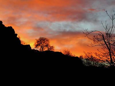 Photograph - Sunset Ridge by Jacqueline  DiAnne Wasson