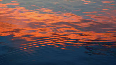 Photograph - Sunset Ripple by Dan Sproul