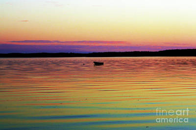 Photograph - Sunset Ripples by Patti Whitten