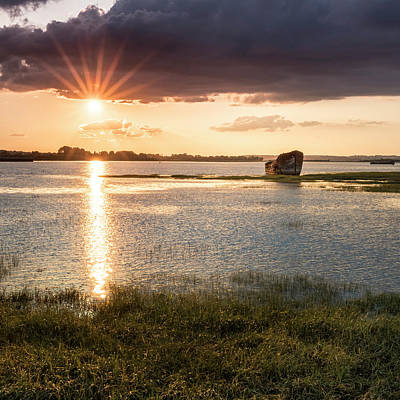 Photograph - Sunset River by Kelvin Trundle