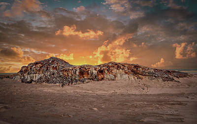 Photograph - Sunset Rock by Bill Posner