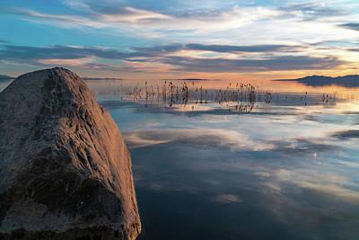 Photograph - Sunset Rock by Justin Johnson