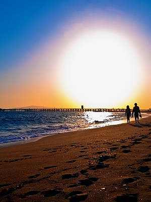 Photograph - Sunset Romance by Jim DeLillo
