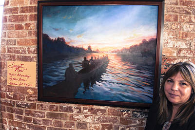 Photograph - Sunset Row by Chris Babcock