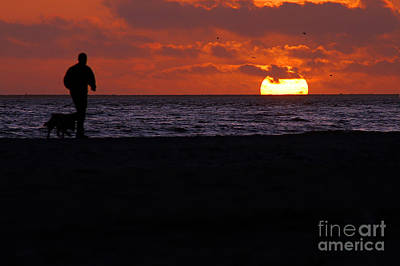 Photograph - Sunset Run by Clayton Bruster
