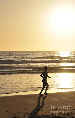 Photograph - Sunset Run by Robert WK Clark