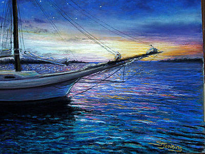 Painting - Sunset Sail On Key West by Susan Jenkins