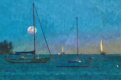 Photograph - Sunset Sail On Sarasota Bay by Susan Molnar