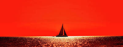 Photograph - Sunset Sail by Pixabay