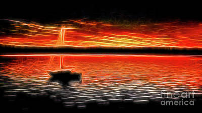 Lucille Ball - Sunset Sail by MSVRVisual Rawshutterbug