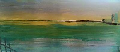 Painting - Sunset Seascape 5 by Judi Goodwin