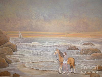 Painting - Sunset Serenade by Patti Lennox