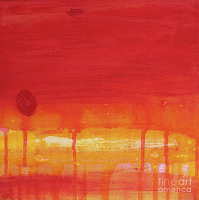 Sunset Series Untitled II Art Print by Nickola McCoy-Snell