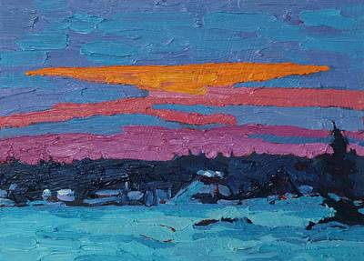 Painting - Sunset Shades by Phil Chadwick