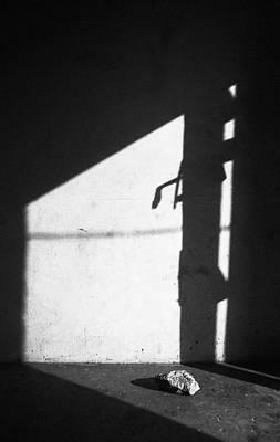 Photograph - Sunset Shadow On Door by Muyiwa OSIFUYE