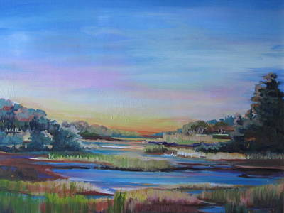 Painting - Sunset by Sharon Sorrels