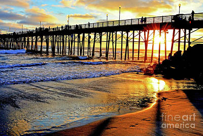 Photograph - Sunset Shimmer by Third Eye Perspectives Photographic Fine Art