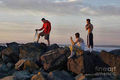 Photograph - Sunset Shooters by Bob Brents