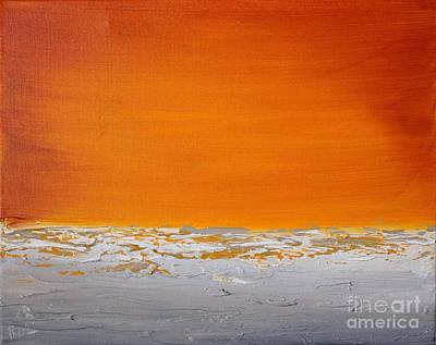 Painting - Sunset Shore 1 by Preethi Mathialagan