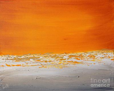 Painting - Sunset Shore 2 by Preethi Mathialagan