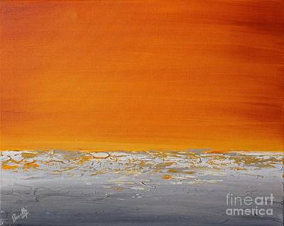 Painting - Sunset Shore 3 by Preethi Mathialagan