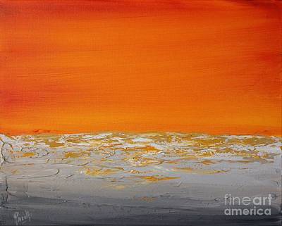 Painting - Sunset Shore 4 by Preethi Mathialagan