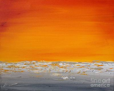 Painting - Sunset Shore 5 by Preethi Mathialagan