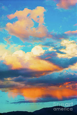 Sunset Showers Art Print
