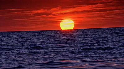 Photograph - Sunset Siesta Key Florida by Steve Archbold